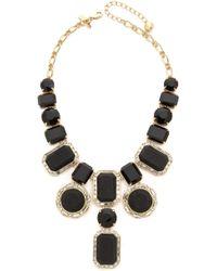 Kate Spade Jackpot Jewels Statement Necklace - Black - Lyst