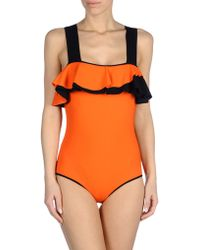 Roksanda Costume orange - Lyst