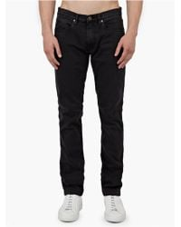 Acne Studios Washed Black 'Max' Slim-Fit Jeans black - Lyst