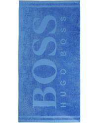Hugo Boss Beach Towel   Cotton Terrycloth Beach Towel - Lyst