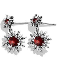 David Yurman Starburst Earrings - Lyst