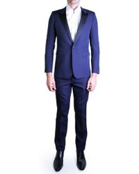 Saint Laurent | Blue Two-piece Tuxedo | Lyst