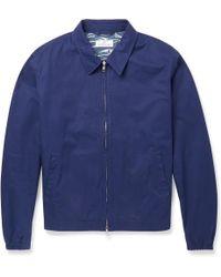 Hentsch Man Cotton Bomber Jacket - Lyst