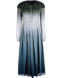 Burberry Prorsum 3/4 Length Dress - Lyst