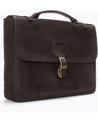 Zara Retro Briefcase - Lyst