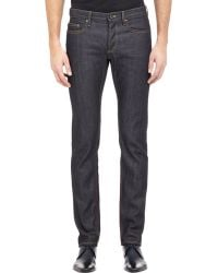 Burberry Xo Barneys New York Slim-Fit Five-Pocket Jeans - Lyst