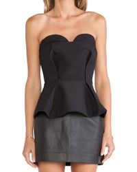 Finders Keepers Sitting Waiting Wishing Bustier - Lyst