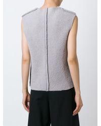 Charlie May - Sleeveless Sweater - Lyst
