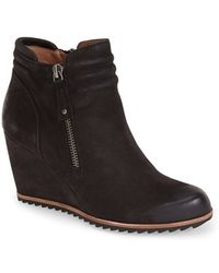 Biala - Ashton Leather Wedge Boots - Lyst