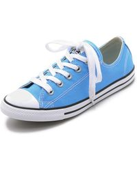 Converse Chuck Taylor All Star Dainty Sneakers - Monte Blue blue - Lyst
