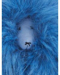 Shrimps - Lenny Mascot Faux-Fur Bag Charm - Lyst