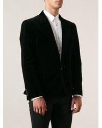 Dolce & Gabbana Velvet Blazer - Lyst