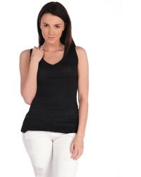 Suss Allana V-Neck Muscle Tee - Lyst