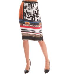 Clover Canyon   Imperial Markings Reversible Skirt   Lyst