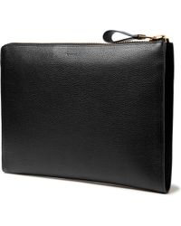 Tom Ford - Full-grain Leather Pouch - Lyst