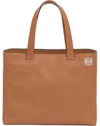 Loewe East West Leather Shopper Bag - For Women - Lyst