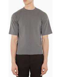 Jil Sander   Heavy Cotton T-shirt   Lyst