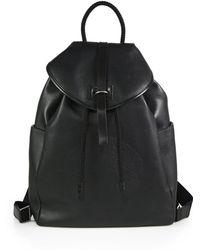 Alexander McQueen Skull Leather Backpack - Lyst