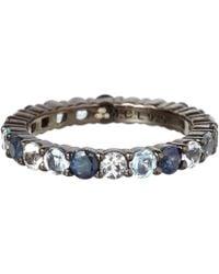 M.c.l - Large Blue Sapphire Ring - Lyst