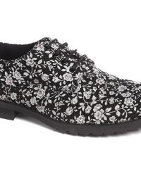 Asos Derby Shoes with Floral Print - Lyst