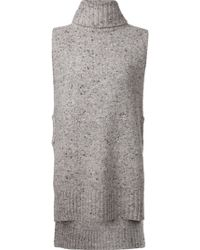Adam Lippes Speckled Sweater - Lyst