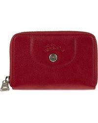 Longchamp Le Pliage Coin Purse - For Women red - Lyst
