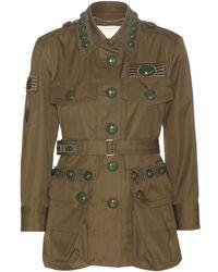 Marc Jacobs Cotton Military Jacket - Lyst