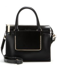 Roger Vivier Shopping U Small Leather Tote - Lyst