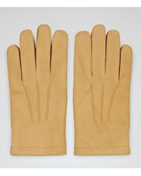 Reiss - Cantebury Dents Cashmere Lined Gloves - Lyst