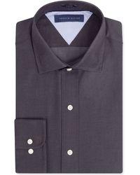Tommy Hilfiger Slim-fit Twill Solid Dress Shirt - Lyst