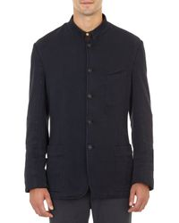 Massimo Alba Stand-up Collar Five-button Jacket - Lyst