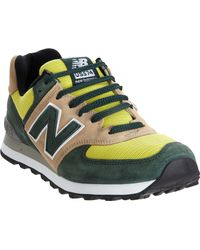 New Balance Green 574 - Lyst