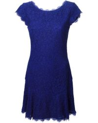 Diane von Furstenberg Lace Dress - Lyst