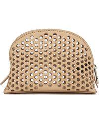 Loeffler Randall - Women's Small Perforated Cosmetic Bag - Lyst