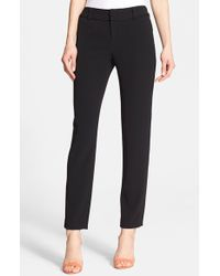 Alice + Olivia Slim Ankle Pants - Lyst