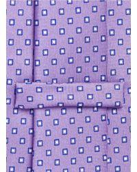 E. Marinella - Square Dot Print Silk Tie - Lyst