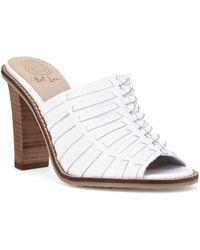 Elliott Lucca - Vienna Leather Mule Sandals - Lyst