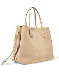 Rochas - Suede Tote - Lyst