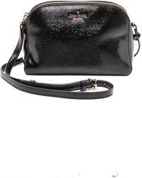Kate Spade Double Zip Mandy Cross Body Bag  Black - Lyst