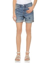 Madewell Campground Shorts - Annie - Lyst