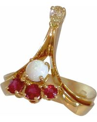 Daou Jewellery - Photon Ring Champagne Diamond - Lyst