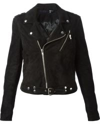Blk Dnm Black Biker Jacket - Lyst