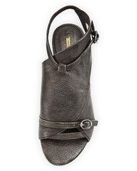 Max Studio - Veil Asymmetric Leather Sandal - Lyst