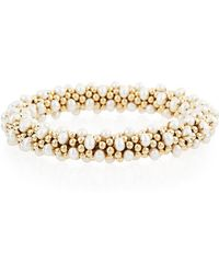 Meredith Frederick - Caroline 14k Gold & Pearl Bracelet - Lyst