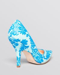 Isa Tapia Pointed Toe Pumps - Isabella High Heel - Lyst