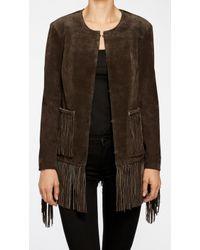 Blank Jacket brown - Lyst