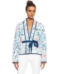 Isabel Marant Orsen Quilt Cotton Print Jacket - Lyst