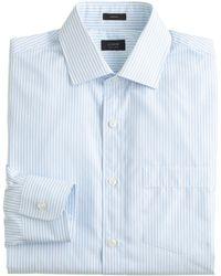 J.Crew Crosby Dress Shirt in Endonend Oasis Blue Stripe - Lyst