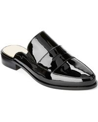 French Connection Louis Patent Leather Loafers - Lyst