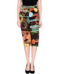 M Missoni 3/4-Length Trousers brown - Lyst